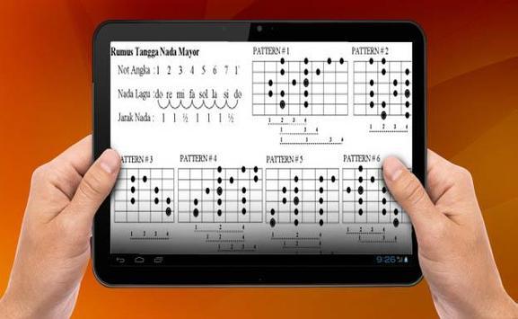 Learn Basic Guitar Melodies apk screenshot