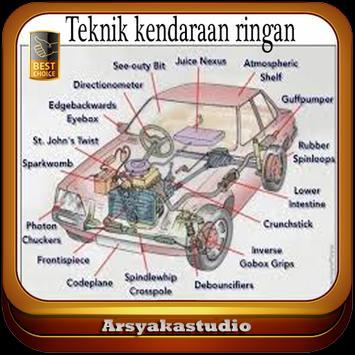 Teknik Kendaraan Ringan Lengkap 2018 poster
