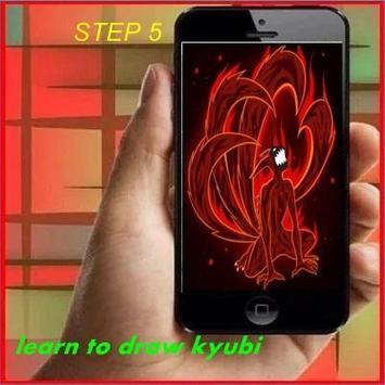 Learn to Draw Kyubi apk screenshot
