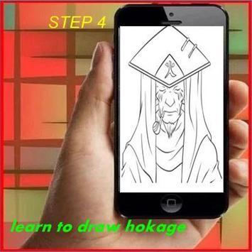 Learn to Draw Hokage apk screenshot