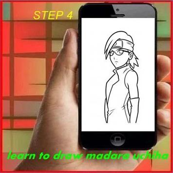 Learn to Draw Madara apk screenshot