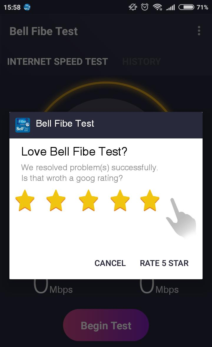 Bell Fibe Test for Android - APK Download