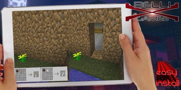 Camoufalge Doors Resource Pack for MCPE screenshot 7