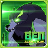 Alien Ben Blitzwolfer Lycan icon