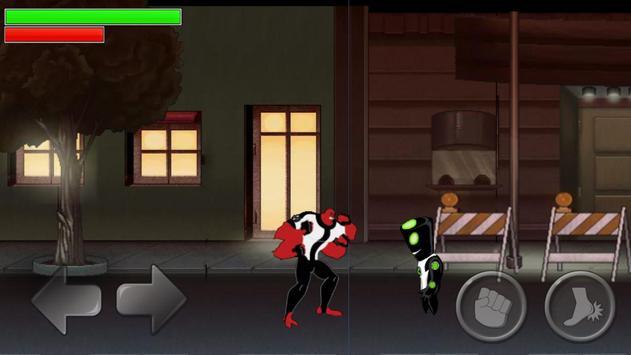 Alien Ben Blitzwolfer Lycan screenshot 3