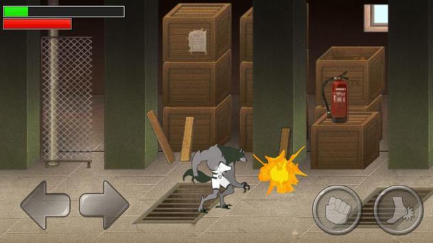 Alien Ben Blitzwolfer Lycan screenshot 2