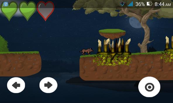 Despair Wolf - 2D Platformer apk screenshot