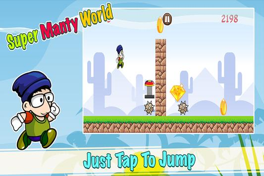 Super Manty World Run poster