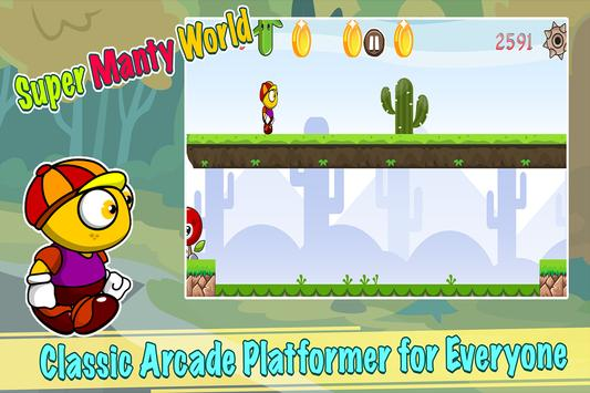 Super Manty World Run apk screenshot