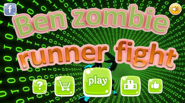 ben zombie runner fight poster
