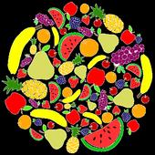 Benefits of fruit icon
