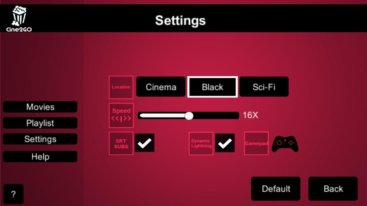Cine2GO - VR Cinema Player for Android - APK Download