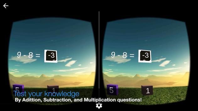 Virtual Reality Math screenshot 2
