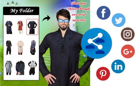Men T-Shirt Designs Photo Montage apk screenshot