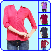 Formal Shirt for Woman Photo Editor icon