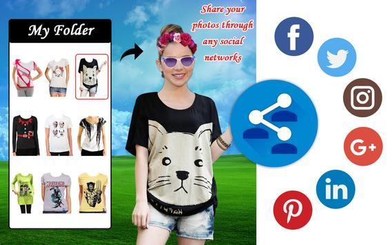 Formal Shirt for Woman Photo Editor screenshot 8