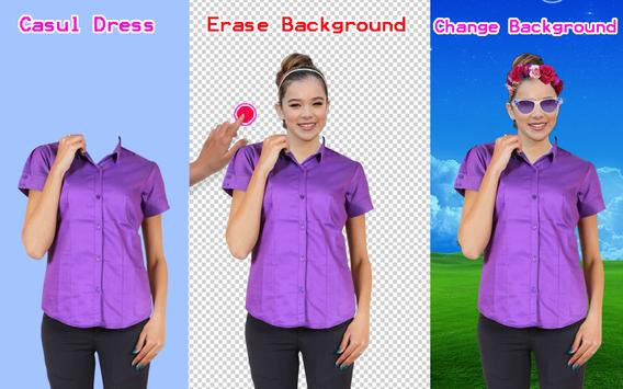 Formal Shirt for Woman Photo Editor poster