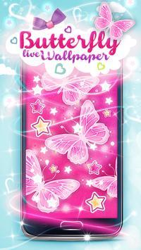 Butterfly Live Wallpaper apk screenshot