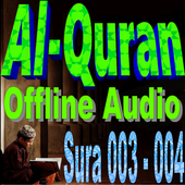 Quran Offline Audio: 003 Āl ʿimrān - 004 An-Nisa' icon