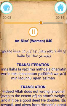 Quran Offline Audio: 003 Āl ʿimrān - 004 An-Nisa' apk screenshot