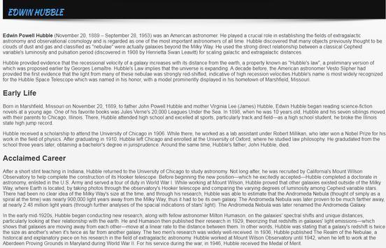 World Best Astronomers Biographies apk screenshot