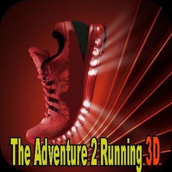 The Adventure 2 Running 3D poster