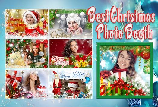 🎄 Best Christmas Photo Booth poster