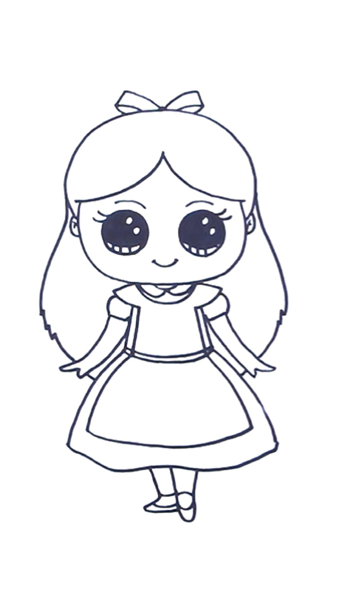 How to Draw Little Princess Easy Step By Step for Android ...