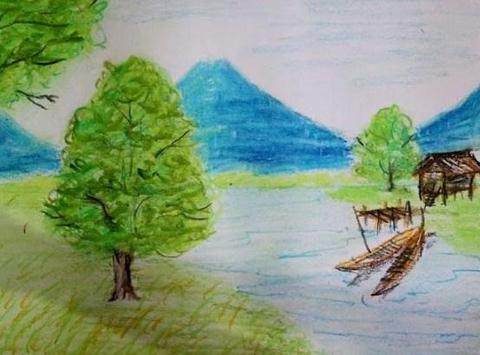 Best Drawing a scenery poster