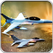 F18 Army Fly Fighter Jet 3D icon