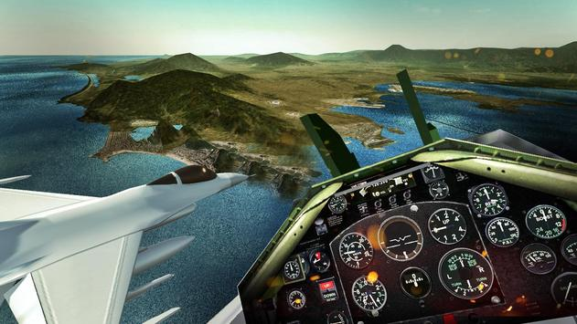 F18 Army Fly Fighter Jet 3D screenshot 9
