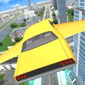 Flying Car Driving 3D icon