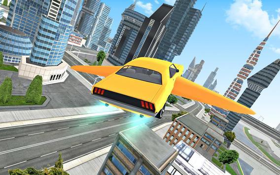 Flying Car Driving 3D screenshot 4