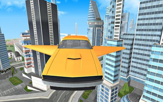 Flying Car Driving 3D screenshot 7