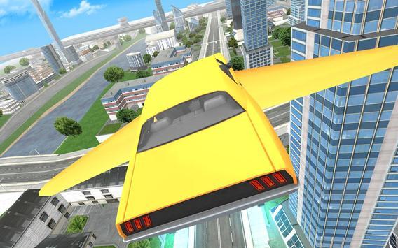 Flying Car Driving 3D screenshot 8
