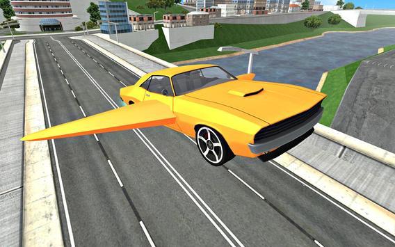 Flying Car Driving 3D screenshot 11