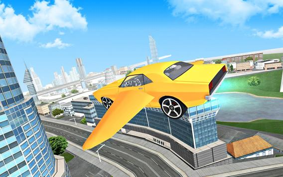 Flying Car Driving 3D screenshot 14