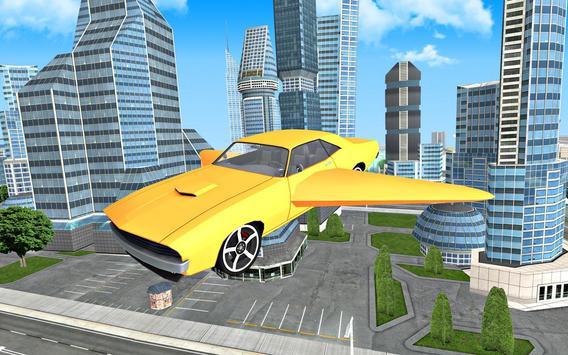 Flying Car Driving 3D screenshot 21