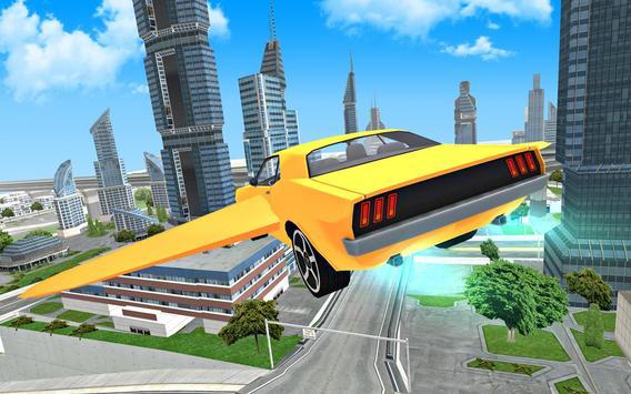 Flying Car Driving 3D screenshot 2
