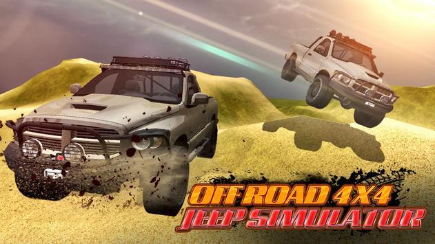 Offroad 4x4 Jeep Simulator poster