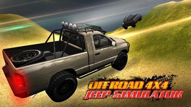 Offroad 4x4 Jeep Simulator apk screenshot