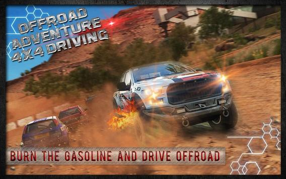 Offroad Adventure 4x4 Driving poster
