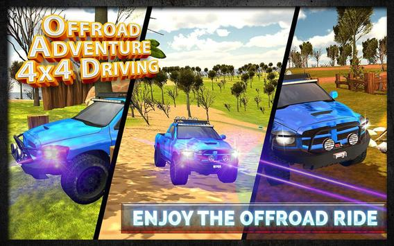 Offroad Adventure 4x4 Driving apk screenshot
