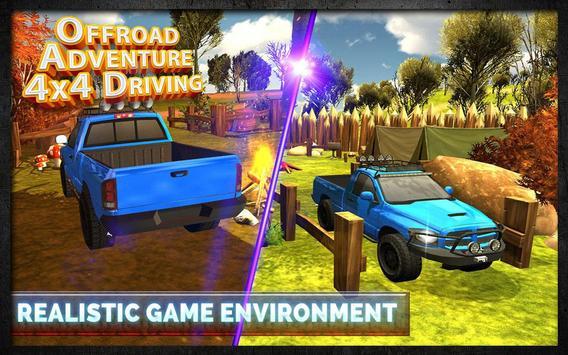 Offroad Adventure 4x4 Driving screenshot 7