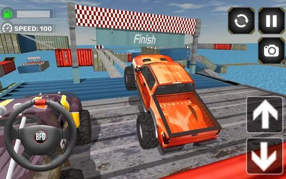 Monster Truck Driving Simulator poster