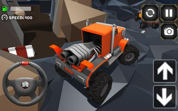 Monster Truck Driving Simulator screenshot 18