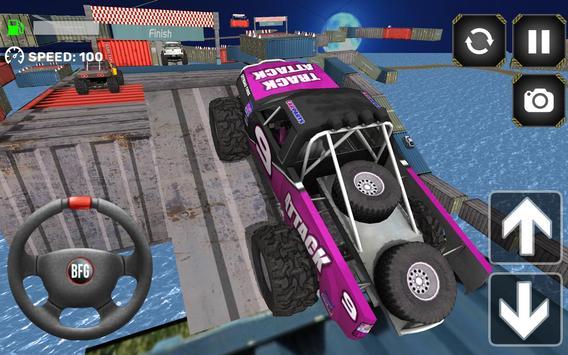 Monster Truck Driving Simulator screenshot 7