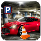 Real Sports Car Parking Mania icon