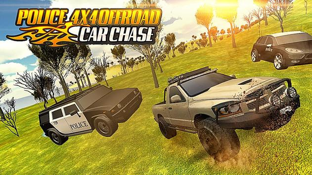 Police 4x4 Offroad Car Chase screenshot 5