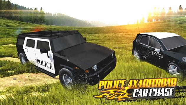 Police 4x4 Offroad Car Chase screenshot 13